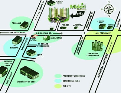 Midori Residence 周辺情報