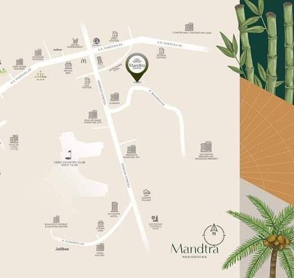 Mandtra ResidencesのMAP